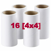 Ikea BASTIS Roller Refill (4 Pack) OR Blue Lint Roller - Pet Hair/Clothes/Fabric
