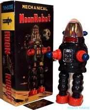 Robby the Robot Yonezawa design Moon Robot Tin Toy Windup Limited Edition