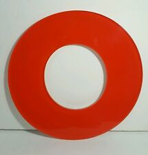 """12"""" ACRYLIC ADVERTISING SIGN LETTER O RED INDOOR OUTDOOR"""