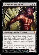 OB NIXILIS, THE FALLEN Zendikar MTG Black Creature — Demon MYTHIC RARE