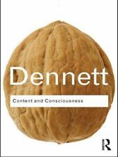 Content and Consciousness (Routledge Classics) (Volume 10), , Dennett, Daniel C.