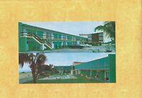 FL Cocoa Beach 1960s era vintage postcard ASTROCRAFT MOTEL 4300 Ocean Beach BLV