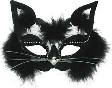 Luxury Cat Katzenmaske NEU - Karneval Fasching Maske Gesicht