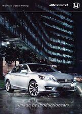2014 Honda Accord 32-page Original Australia Car Sales Brochure Catalog