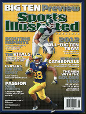 2012 Sports Illustrated No Label Big Ten Preview Gholston Toussaint 8308