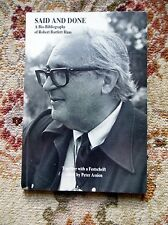 1986 ROBERT HAAS Bio-Bibliography 1st Ed. SIGNED & INSCRIBED to DONALD GALLUP