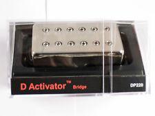 DiMarzio Regular Spaced D Activator Bridge Humbucker W/Nickel Cover DP 220