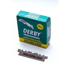 Derby Professional Single Edge 100x Razor Blades