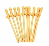 1 - 30 Willy Straws Hen Party Accessories Dicky Drinking Straws Hen Night Fun