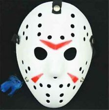 Jason Voorhees White and Red Mask - Dress Up - Halloween - Cosplay - Your Choice