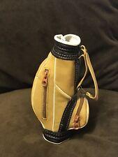 Luxury Executive Leather Office Golf Bag Desk Tidy
