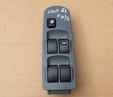 MITSUBISHI COLT 04-08 DRIVERS FRONT WINDOW SWITCH MR587474 ( 5 DOOR HATCHBACK )