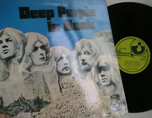 Deep Purple In Rock LP UK