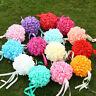 Wedding Foam Rose Flower Ball For Flower Kissing Balls Party Bouquet Top Quality