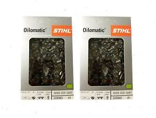 STIHL 3689 005 0081 Oilomatic 26 RM3 81 Rapid Super Chainsaw Chain - 2 Pack