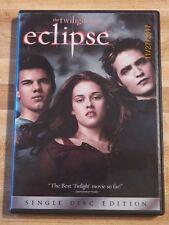 The Twilight Saga: Eclipse DVD Kristen Stewart Robert Pattinson love romance