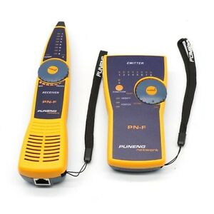 PN-F Wire Tracker Toner and Probe Network Cable Tester Fluke Style+ 2pcs Battery