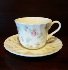Wedgwood Rosehip Tea Cup and Saucer England VGC