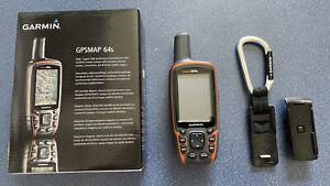 GPS Gerät GARMIN GPSMAP 64s, 32GB Micro SD, !!Neuwertig!!