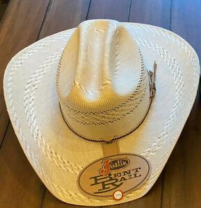 Denny Hamlin TEXAS WIN Justin Cowboy Hat Monster Nascar Trophy Joe Gibbs Racing