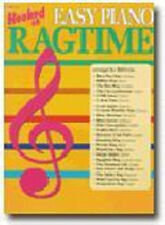 50% OFF* HOOKED ON RAGTIME EASY PIANO BOOK 23 SONGS NEW