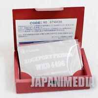 Biohazard Code:Veronica- Limited Rockfort Prison Metal Plate JAPAN RESIDENT EVIL