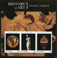 Gambia 2013 MNH History of Art Ancient Greece Heracles Venus Milo 3v M/S Stamps