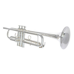 Brand New YAMAHA Trumpet - YTR 4335GS II in SILVER PLATE - SHIPS FREE WORLDWIDE