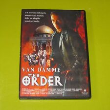 DVD.- THE ORDER - JEAN-CLAUDE VAN DAMME
