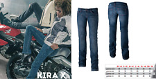 Jeans MOTO da donna in denim con protezioni in Kevlar KIRA X CE  TG 30