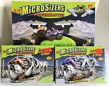 R/C Microsizers Power Brutes & Action Arena Collection New Old Stock!