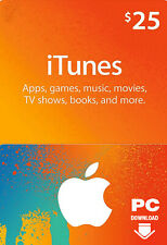 Tarjeta de regalo de iTunes $25 USD clave - $25 Dólar estadounidense Apple Store Usa] [código Tarjeta De Regalo