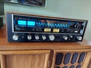 Sansui 790 Vintage Stereo Receiver. European Black Face 7070. Rare.