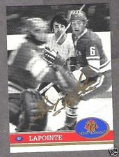 1972 Team Canada Guy Lapointe Autographed Card