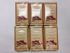 M&L CINNAMON GLYCERINE BAR SOAP 3.3 OZ. SET OF 6 WITH FREE SHIPPING IN THE U.S.!