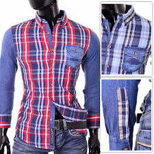 Unbranded Men's Cotton Blend Casual Shirts & Tops