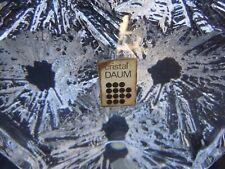 Lampe cristal Daum modele cratere lamp crytal vintage Daum vers 1960