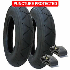 Mountain Buggy Swift Tyres & Inner Tube Se of 2 size 10 x 2 Puncture Protected