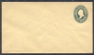 U.S. #U315 (1001-12) Mint Entire - 2c Green on Manila ($100)