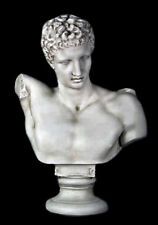 "Greek God Hermes bust 26"" Museum Sculpture Replica Reproduction"