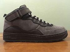 2010 AJF10 Nike Air Force 1 Jordan X Fusion Black Dark Shadow Men's Size 11