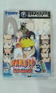 Gamecube NARUTO Gekitoh Ninja Taisen 3