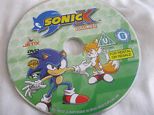 SONIC X Vol 2 - DISC ONLY (RB6)  {DVD}