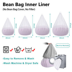 Bag Insert Replacement Cover Inner Liner for Bean Bag Lazy Sofa Inner Liner