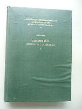 Gesteine Minerallagerstätten 1951 Exogene .. Band 2
