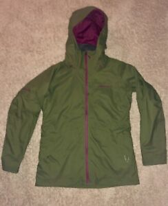NWOT PATAGONIA WOMENS INSULATED SNOWBELLE SNOW SKI JACKET GREEN SZ L LARGE