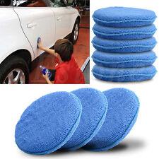 Car Waxing Polish Microfiber Foam Sponge Applicator Cleaning Detailing Pads 5PC