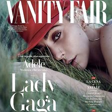 Vanity Fair Magazine Italy LADY GAGA Adele NEW