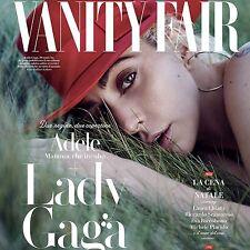 Vanity Fair Magazine Italy LADY GAGA Adele NEW