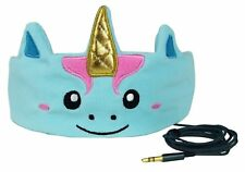 CozyPhones Unicorn Kids Headphones Comfy Light Headband Earphones Travel Home